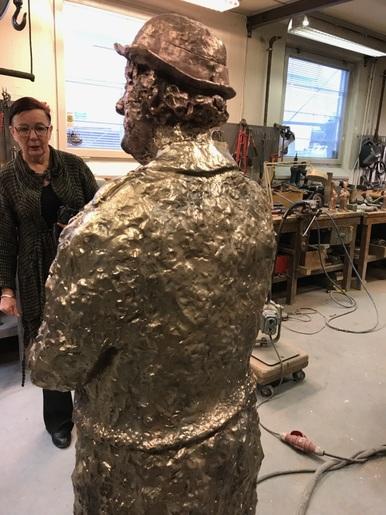 Skulptur i brons
