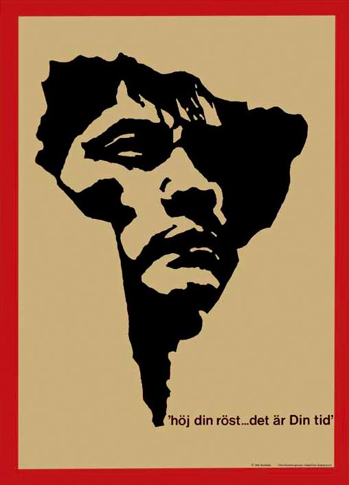 Bild av affisch på Chile