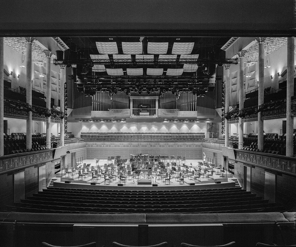 Bild på konserthuset i Stockholm