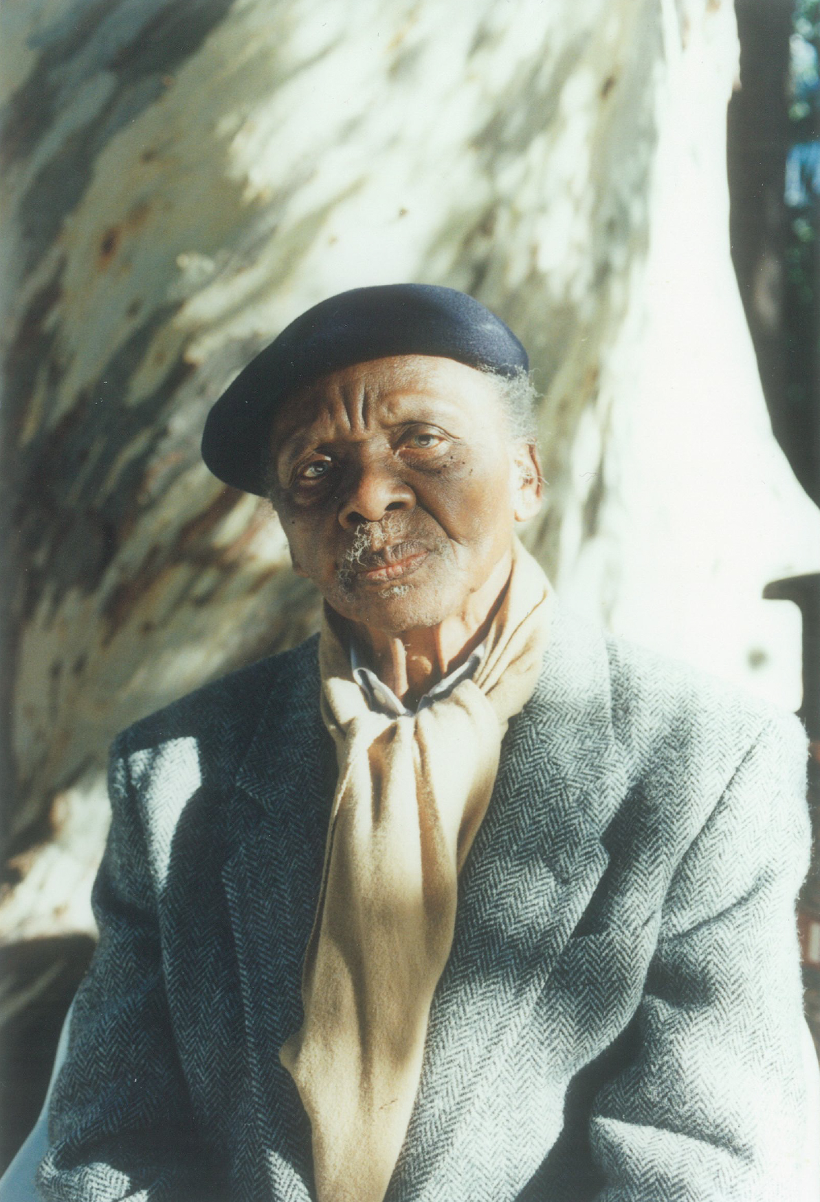 Porträtt av konstnären Ernest Mancoba
