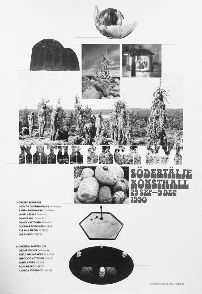 Affisch Natur Saga Myt