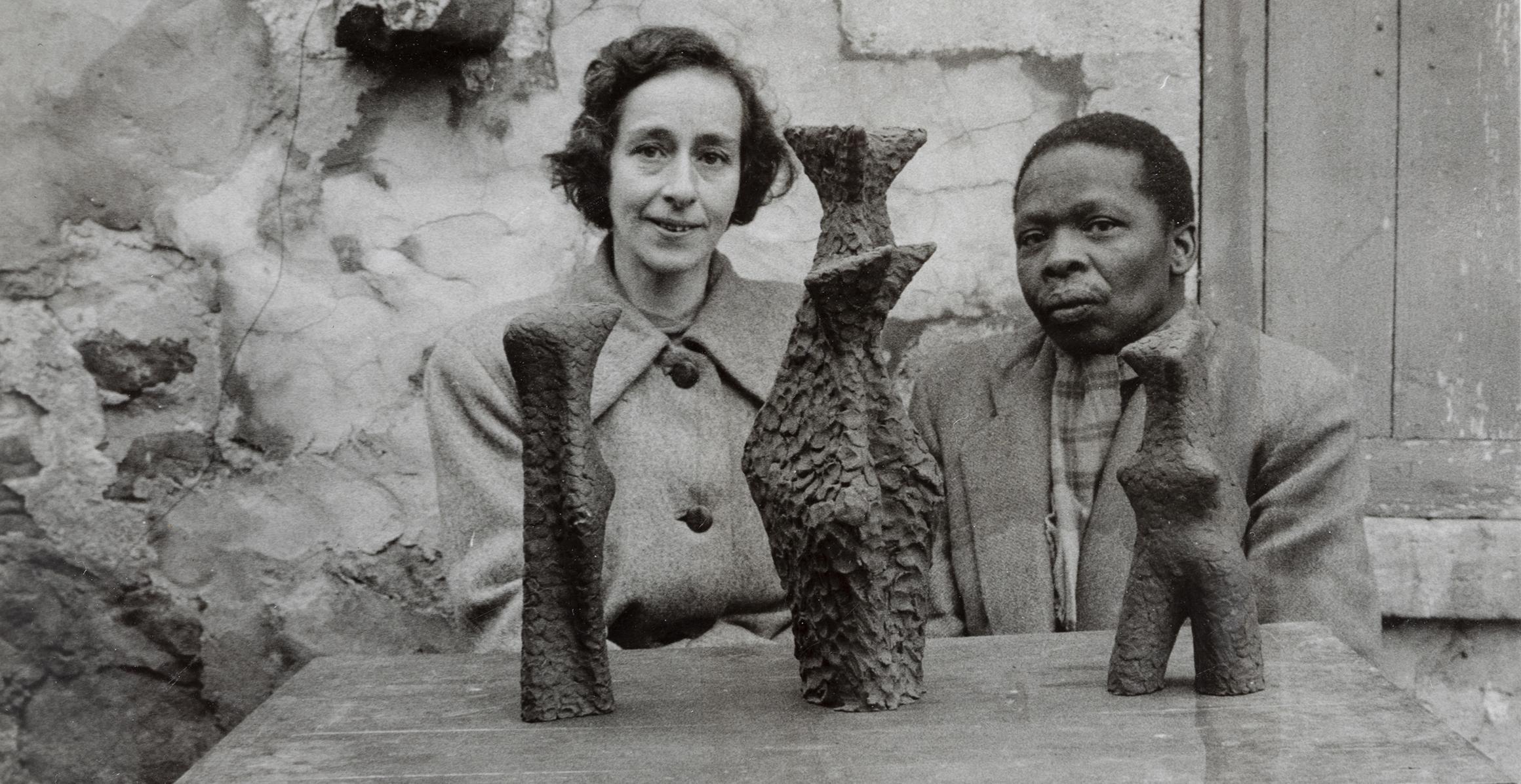 Ernest mancoba och Sonja Ferlov Mancoba