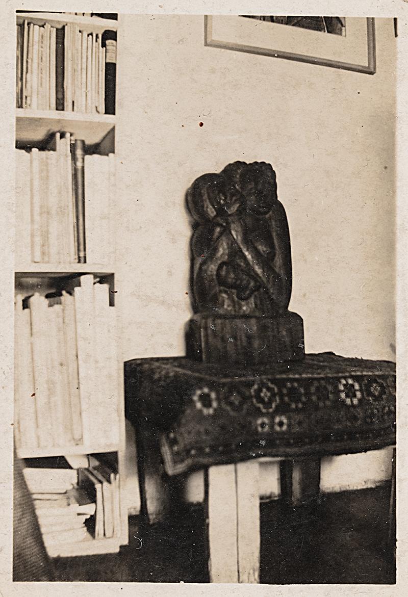 Bild på en skulptur