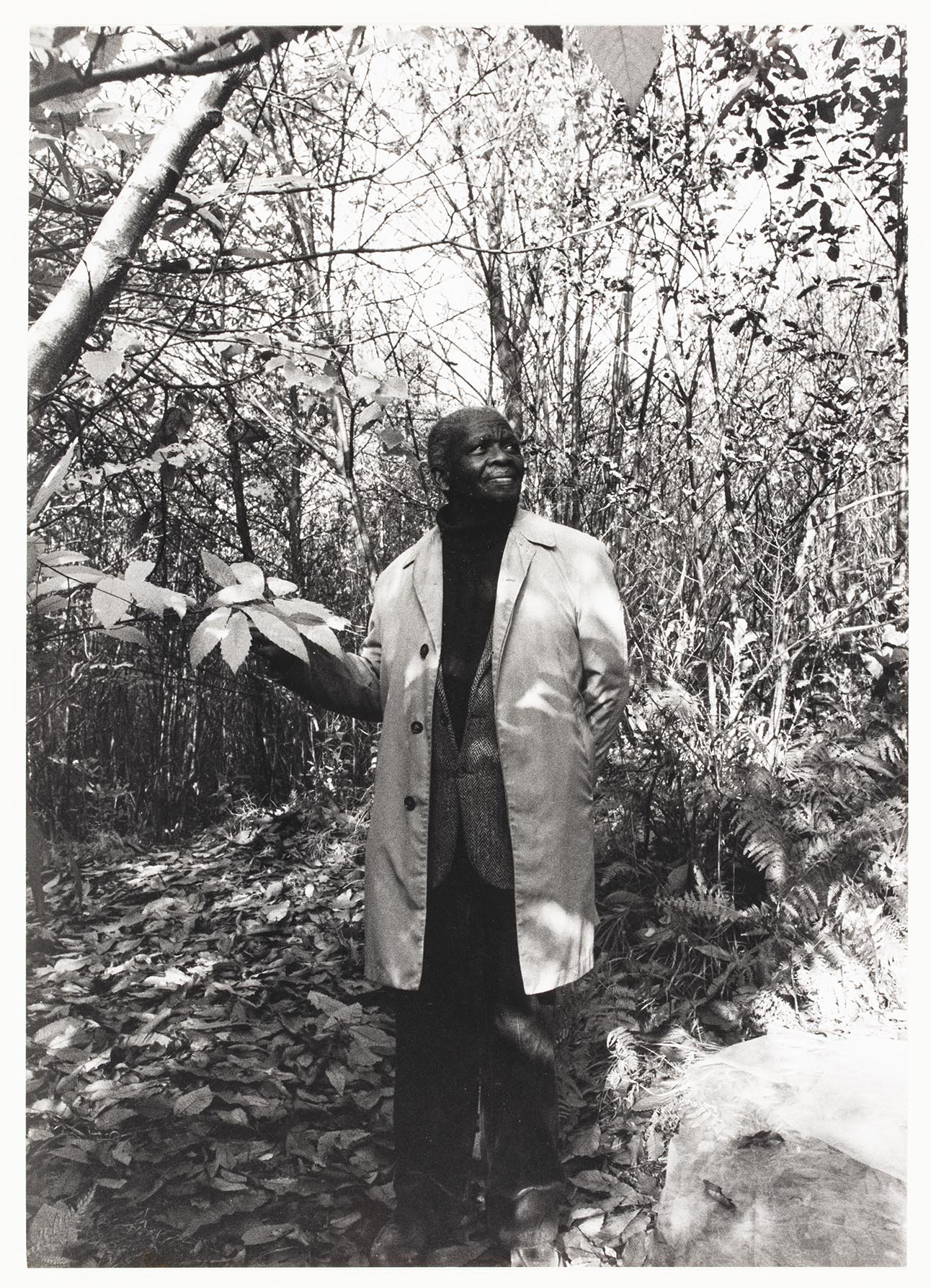 Ernest Mancoba porträtt