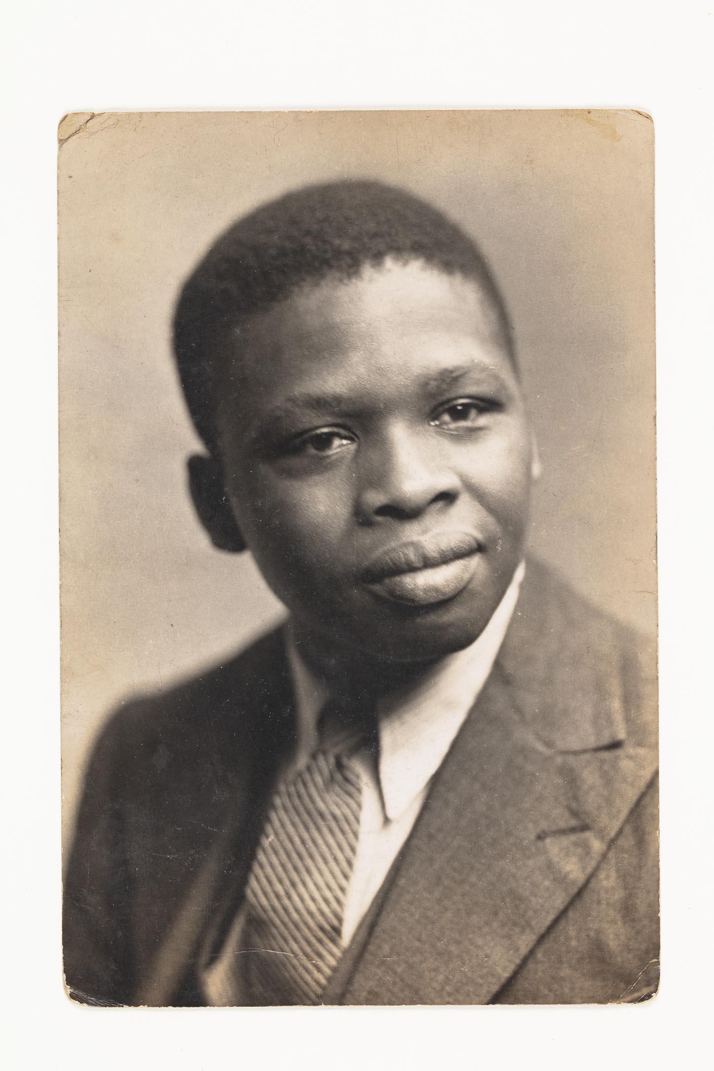 Porträtt av Ernest Mancoba