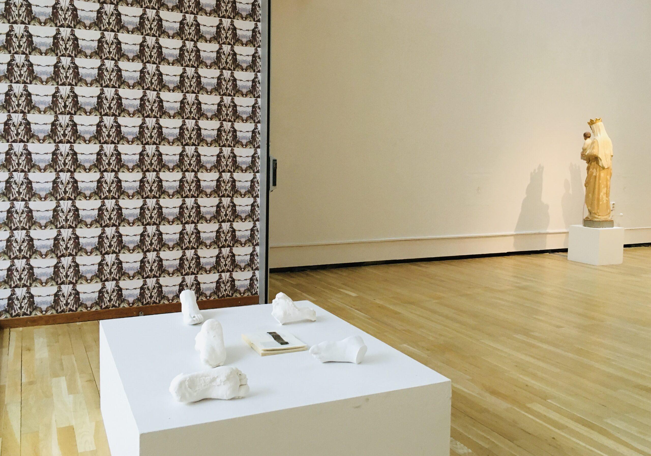 Amina Zoubir installation