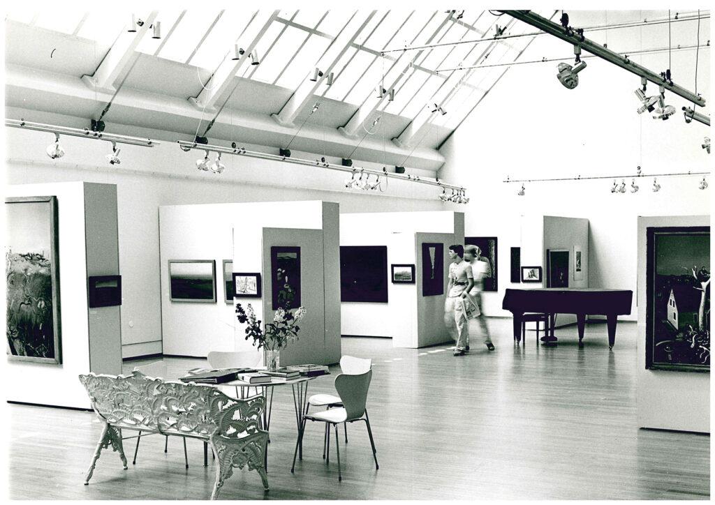 Bild: Södertälje kommuns konstsamling utställd i Södertälje konsthall.