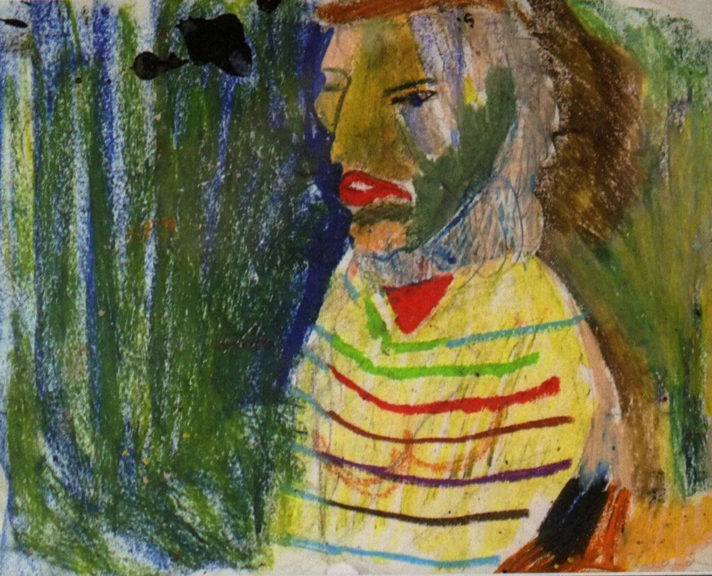 Erland Cullberg, pastellteckning.