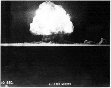 Trinity Detonation
