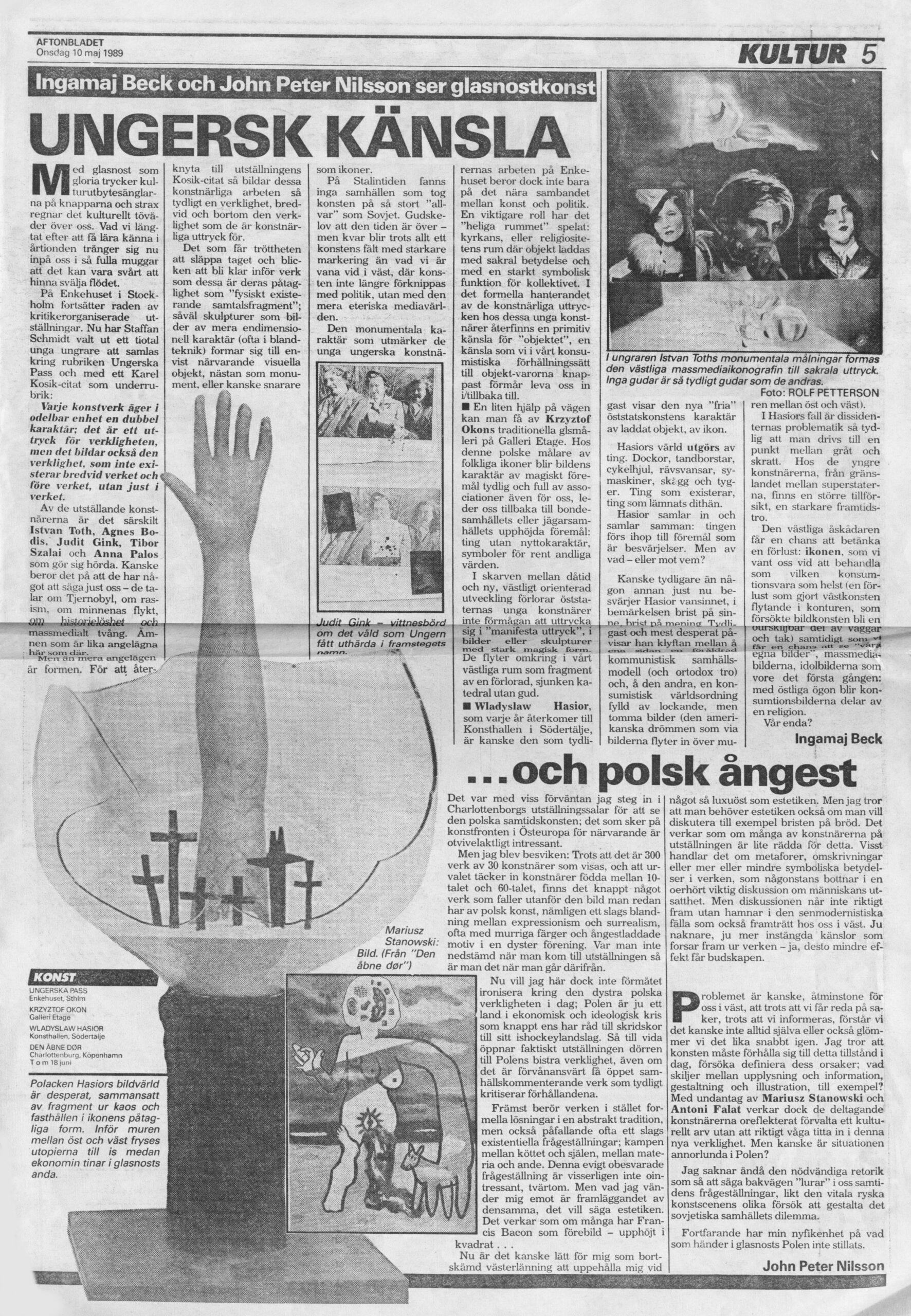 Aftonbladet artikel