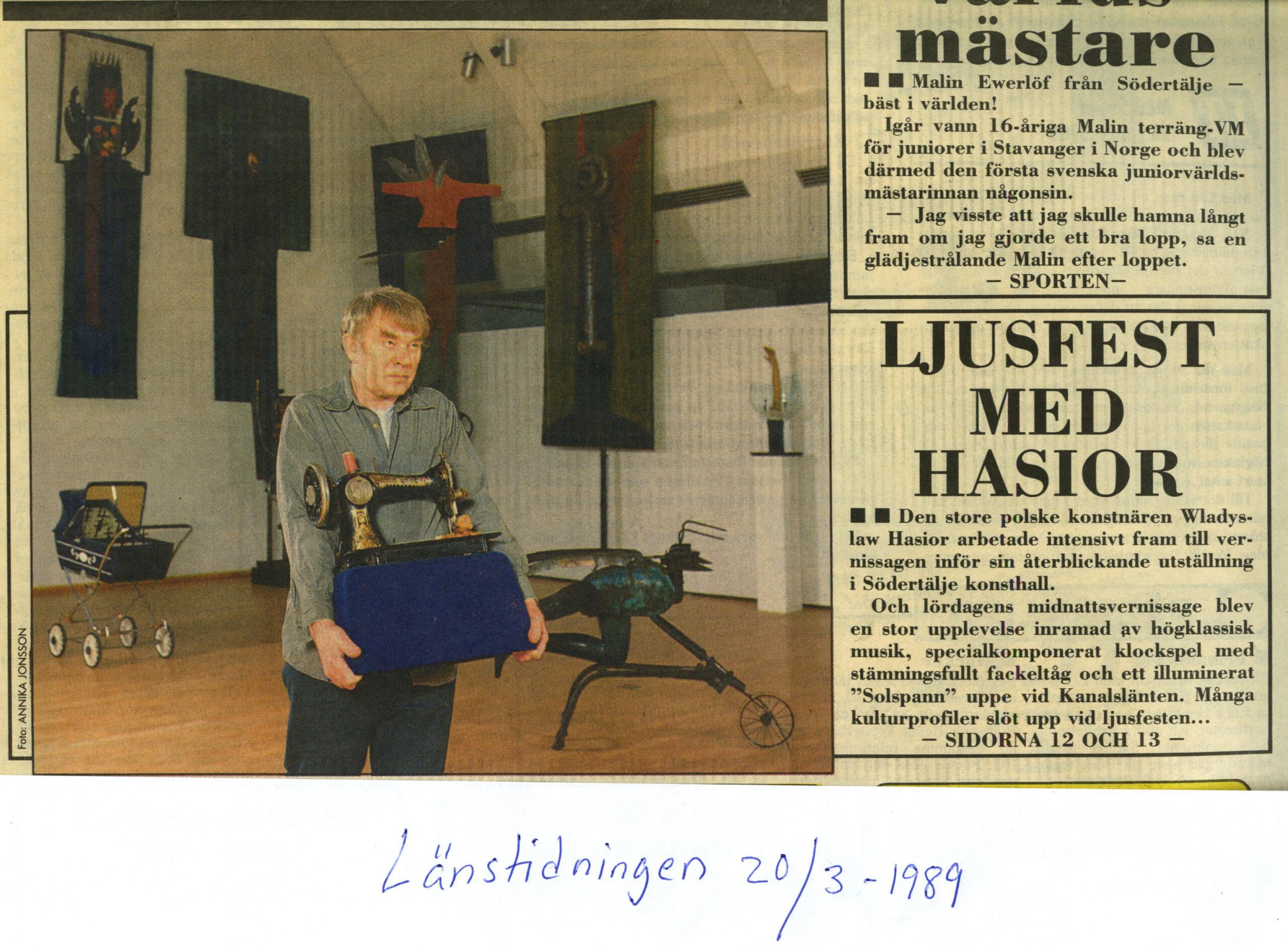 Wladyslaw Hasior i LT
