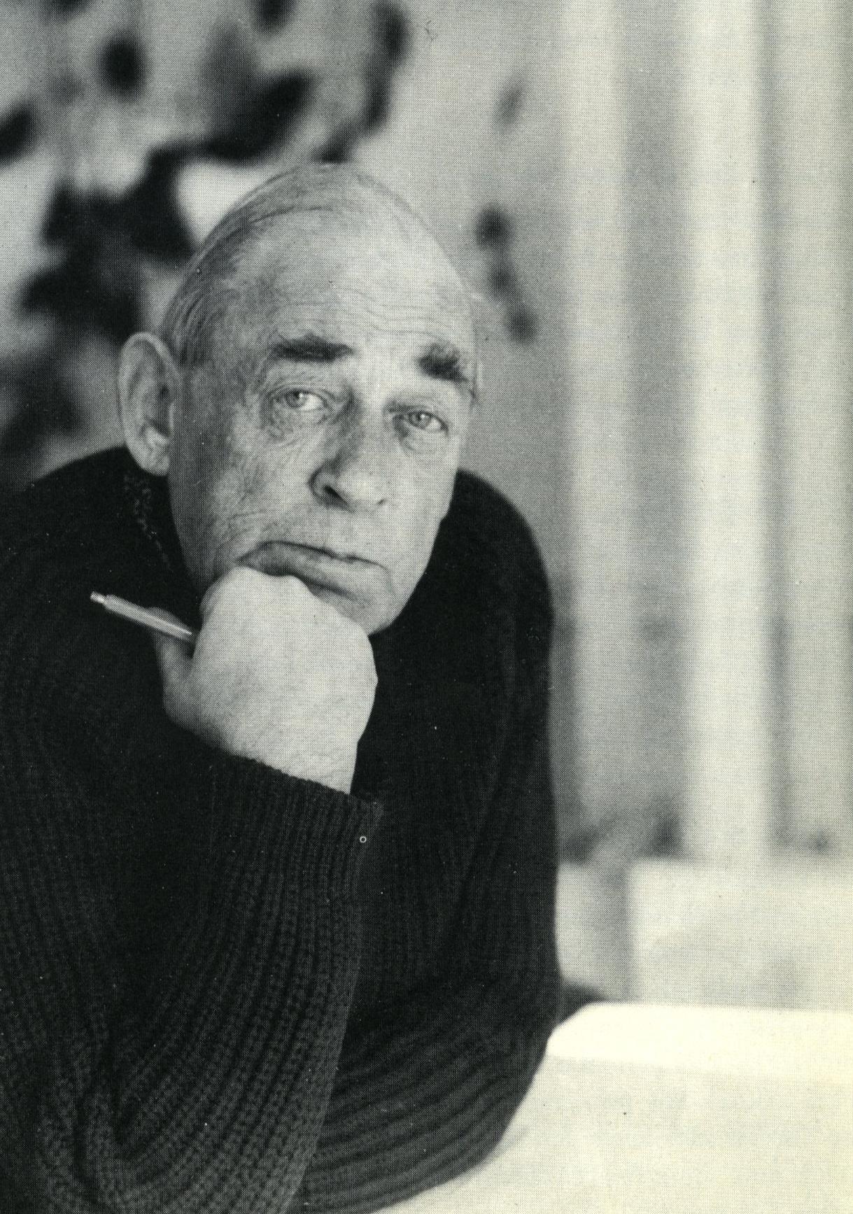 Alvar Aalto porträtt